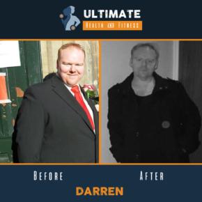 Darren's Transformation