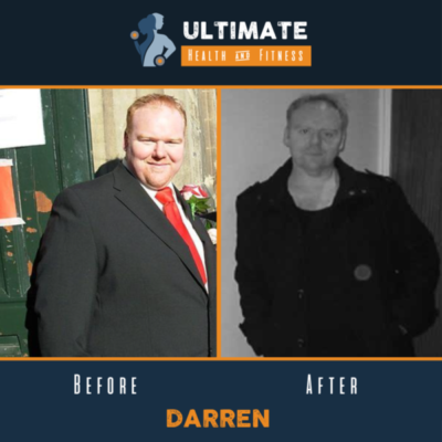 Darrens before and after transformation