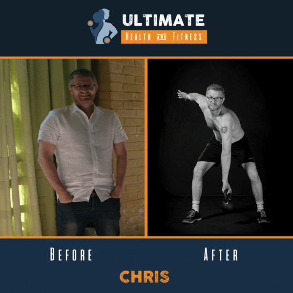 chris before and after