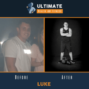 luke before and after