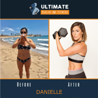 Danielles before and after transformation