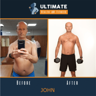 Johns before and after transformation