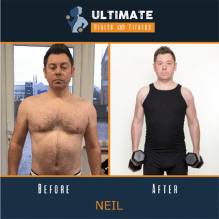 neil before and after
