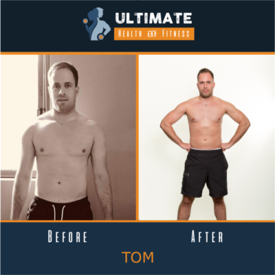 Toms before and after photos