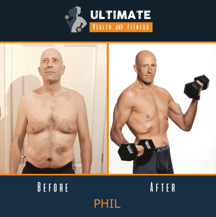 phil before and after