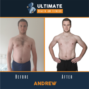 andrew before and after