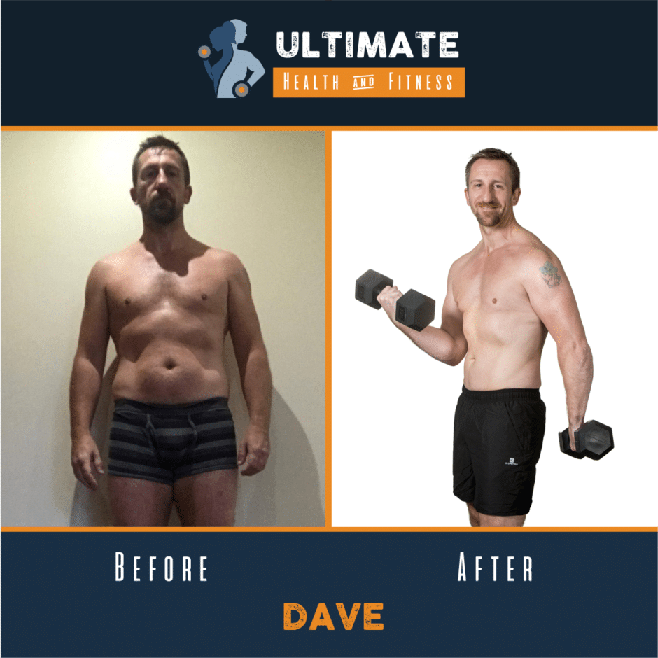 dave before and after