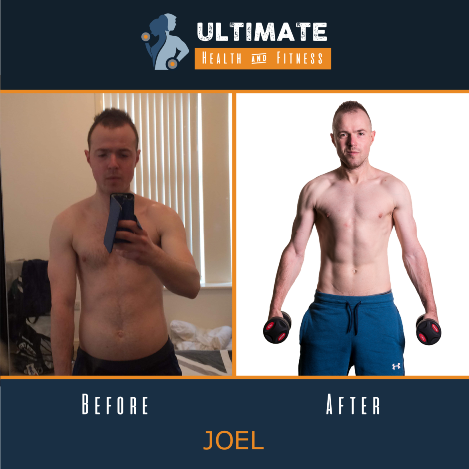 joel before and after