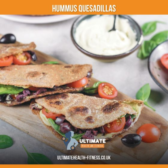 Hummus Quesadillas