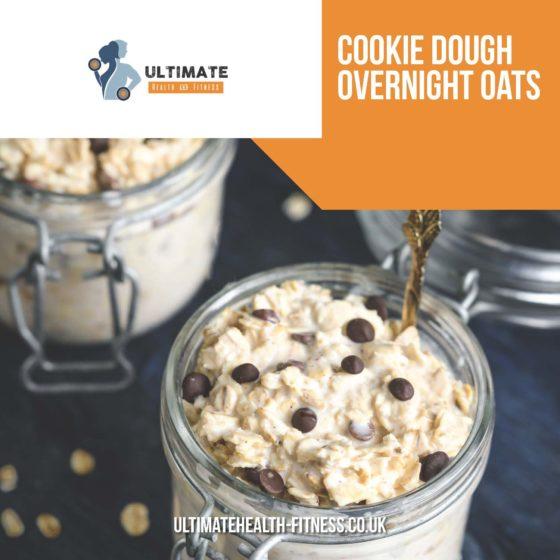 cookie dough overnight oats