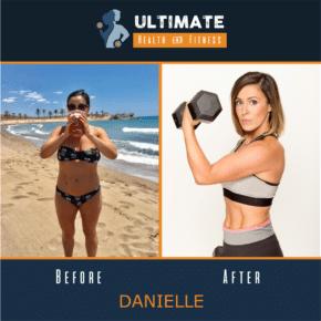 danielle's transformation