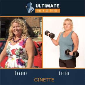ginette's transformation