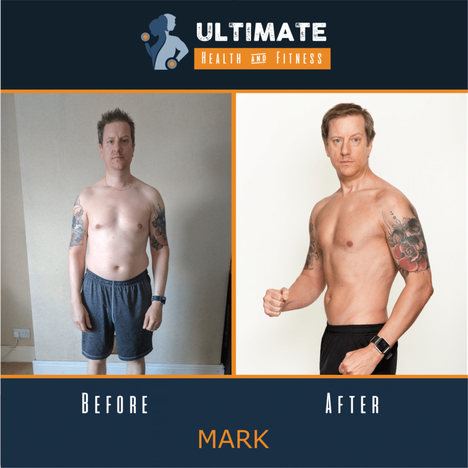 mark before and after