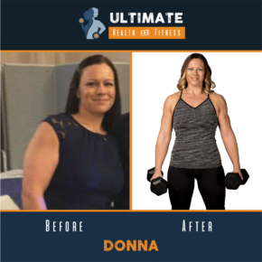 donna before and after